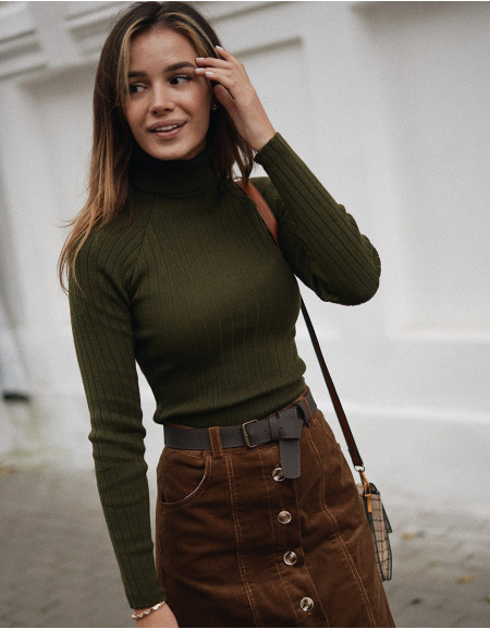 Turtleneck Khaki